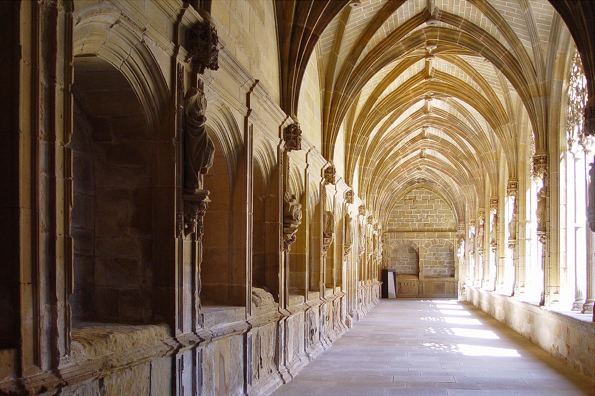 Nájera claustro