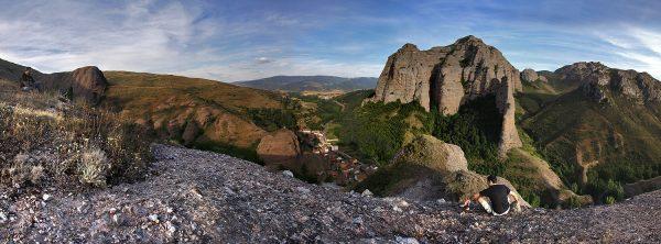 Panorá‡mica de Tobí'a desde la peñ–a San Esteban