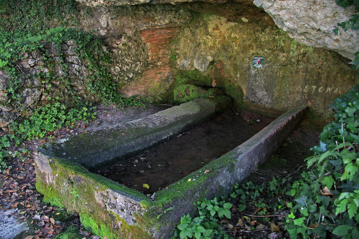Fuente Manantona, Tobía