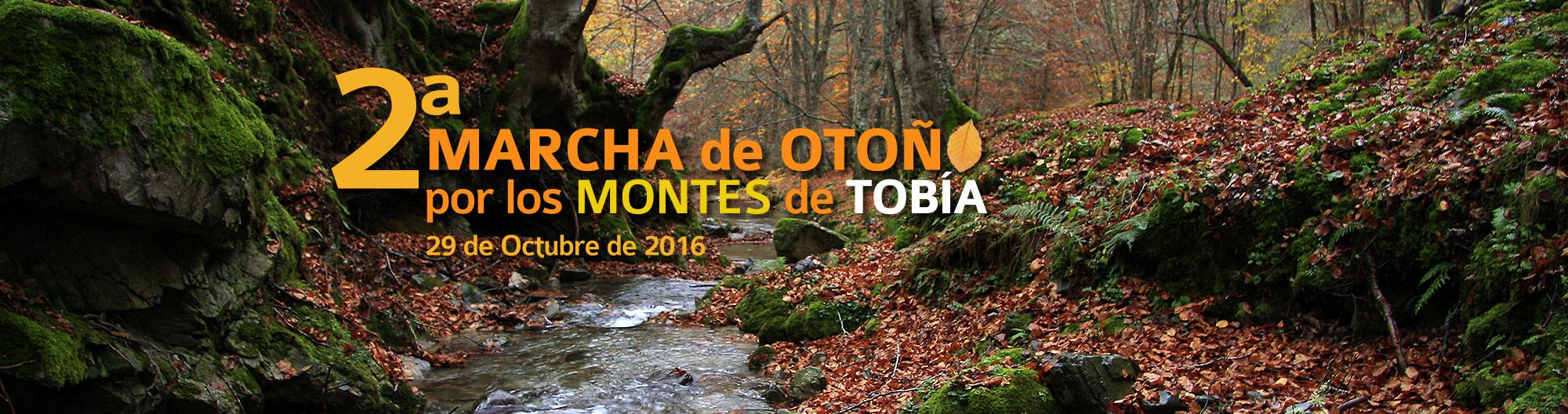 2ª Marcha de Otoño por los Montes de Tobía. 2016